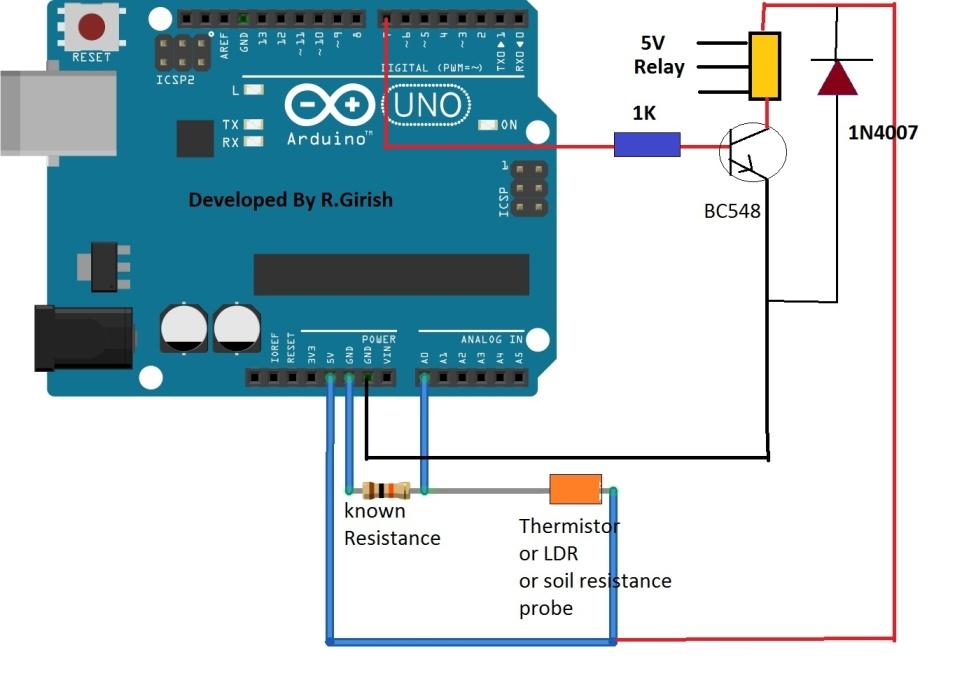 Digital Ohmmeter Circuit Diagram - Wiring Library •