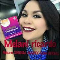 Artis Melani Ricardo Menggunakan Pelangsing Sinensa Beauty Slim Herbal Ampuh