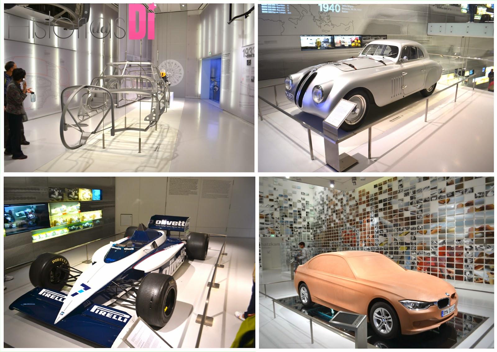 EXPOSIÇÃO DE CARROS NO MUSEU DA BMW