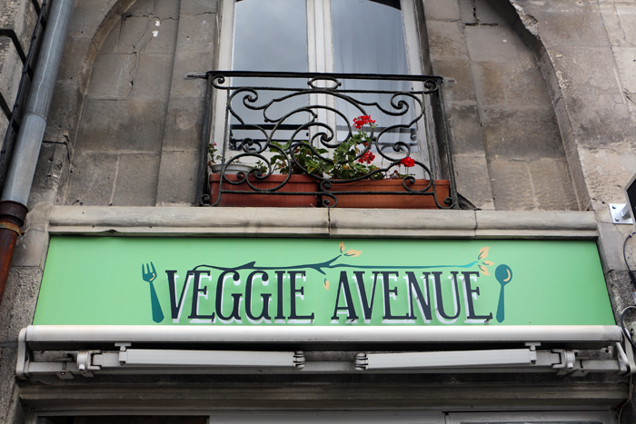Veggie Avenue in Nantes