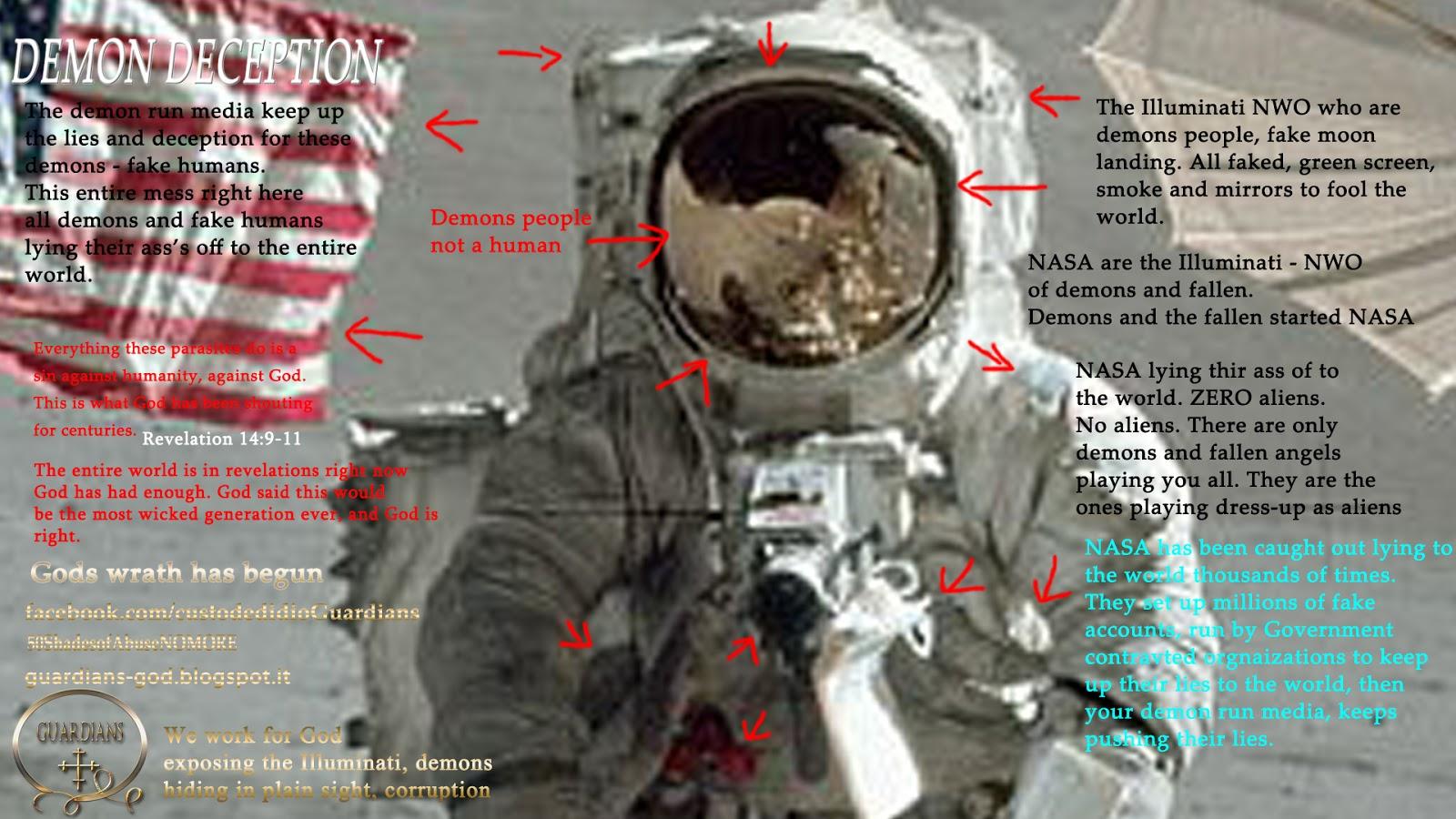 GUARDIANS: Secret Space Program run by the Illuminati NWO demons