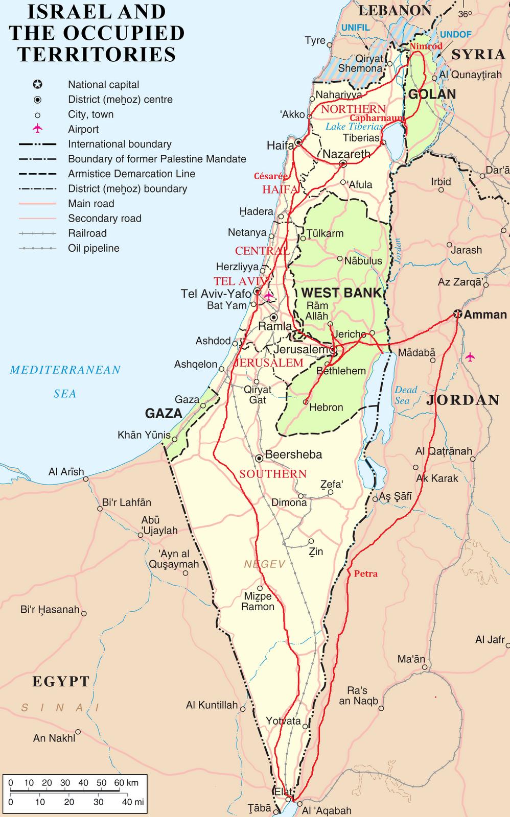 Israel Ja Palestiina