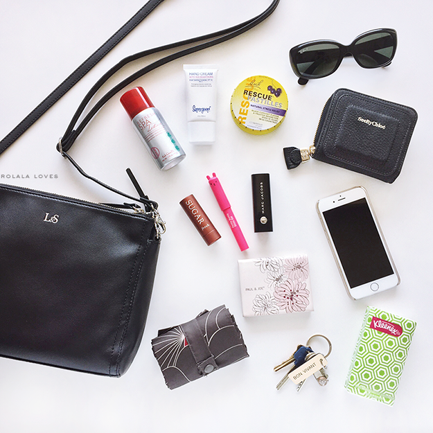 Purse Peek, Purse Contents