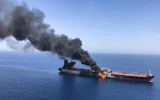 Serangan Kapal Tanker di Oman