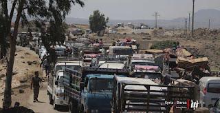 Meskipun Ada Kesepakatan, Syiah Suriah dan Komunis Rusia Mengepung Umat Islam di Daraa