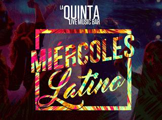 bailable musica latina la quinta bar miercoles