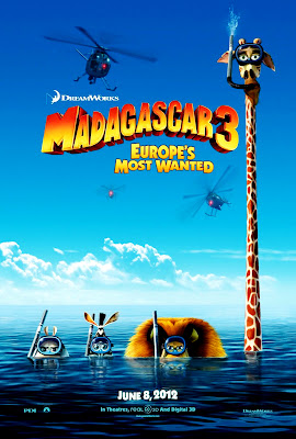 Madagaskar 3 Europe's Most Wanted The Movie Poster