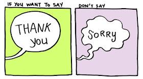 kata maaf dan terimakasih pada anak
