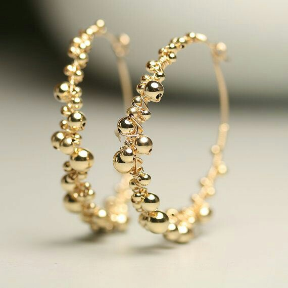These Double And Triple Hoop Earrings Have Such An Interesting Design That There Is No Doubt Your Style Will Go Unnoticed Here Are Few Latest Designs