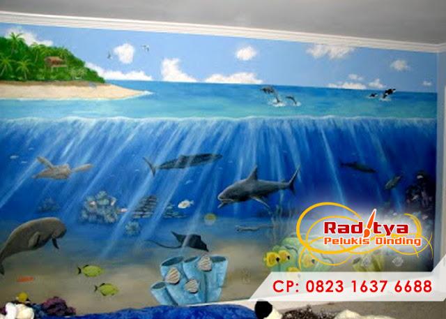 Lukisan Pemandangan Laut