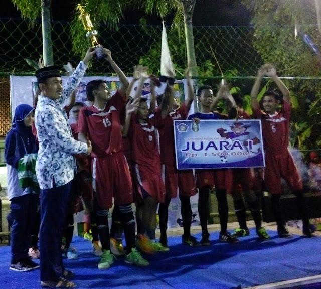 Juara futsal mamusa cup 2016