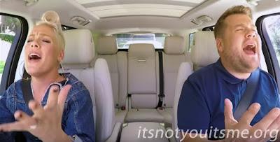 P!nk Carpool Karaoke!