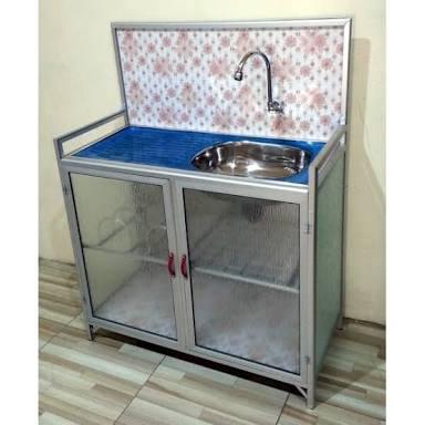 Rak Piring Aluminium Cuci Piring Keramik Purwokerto
