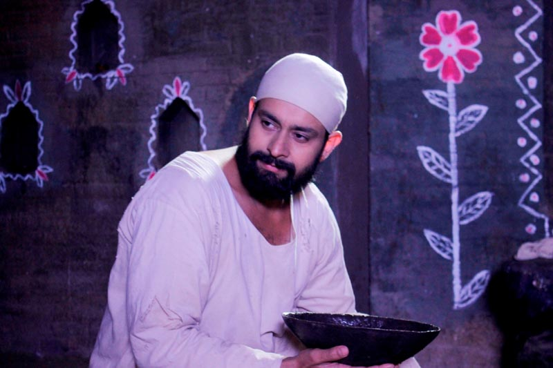 Abeer Soofi in the role of Sai Baba