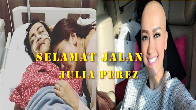 julia peres meninggal dunia