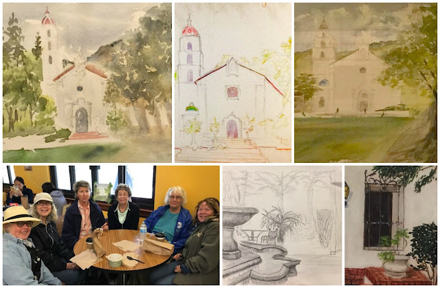 concord art association plein air painting trip