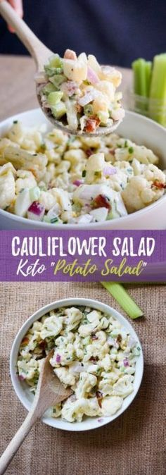 Keto Cauliflower Salad
