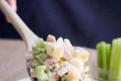 Keto Cauliflower Salad
