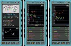 WiFi Analyser: app que permite medir la intensidad de la señal de las redes WiFi cercanas (Android)