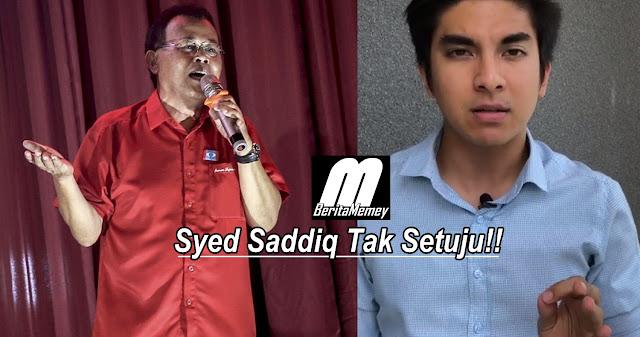 Syed Saddiq Tak Setuju Keputusan Menteri Besar Johor