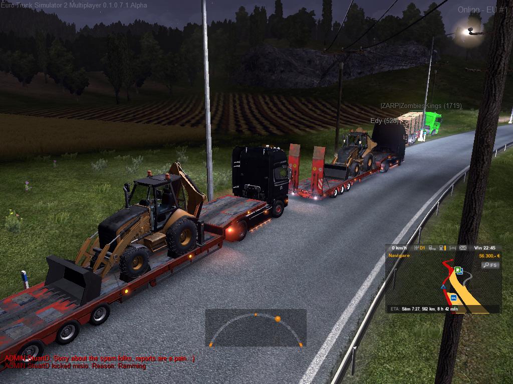 Euro Truck Simulator 2 Aventurile De Pe Multiplayer Live