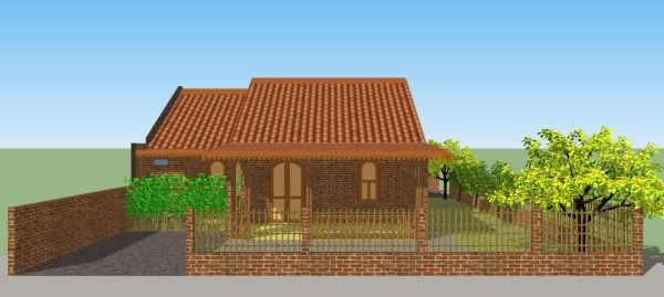 Rumah Minimalis Gaya Betawi Klasik