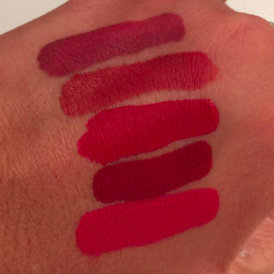 revue et swatch Huda Beauty rouge à lèvres liquides à effet mat