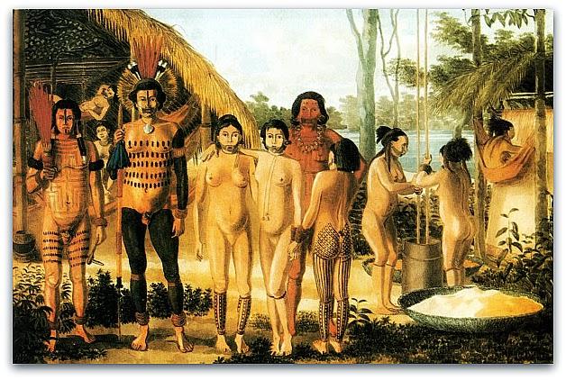 Os índios Guarani ocupavam as terras onde atualmente fica o município de Itajaí