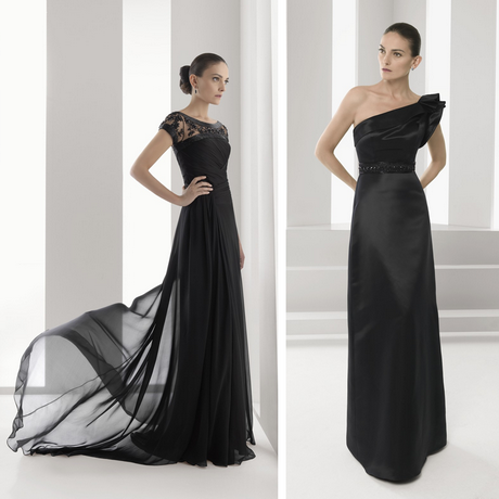 Vestido de madrina negro