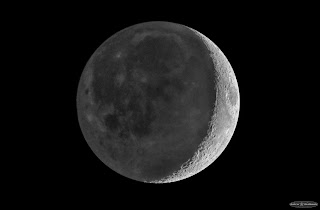 The Moon with Earthshine