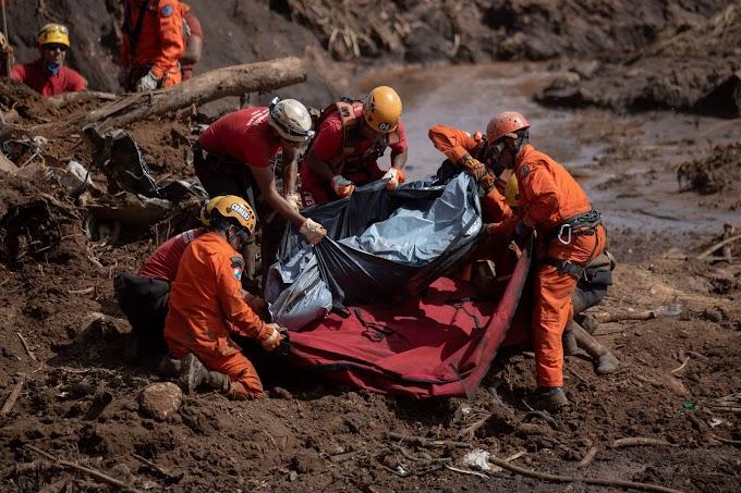 MINAS GERAIS: Número de mortos em Brumadinho sobre para 84, e 276 pessoas continuam desaparecidas.