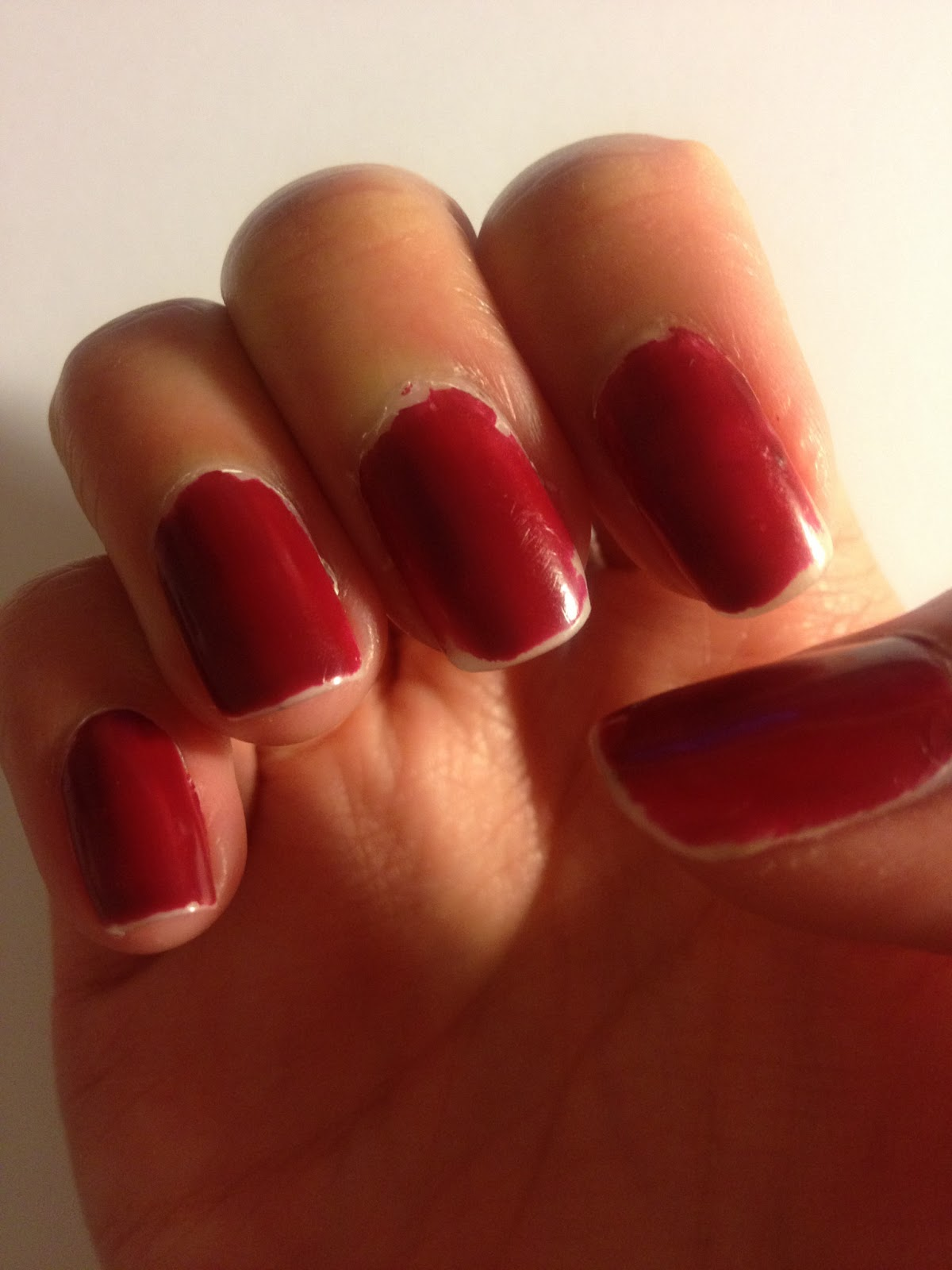 Dream and Love: Chanel Nail Polish 455 Lotus Rouge Product Review