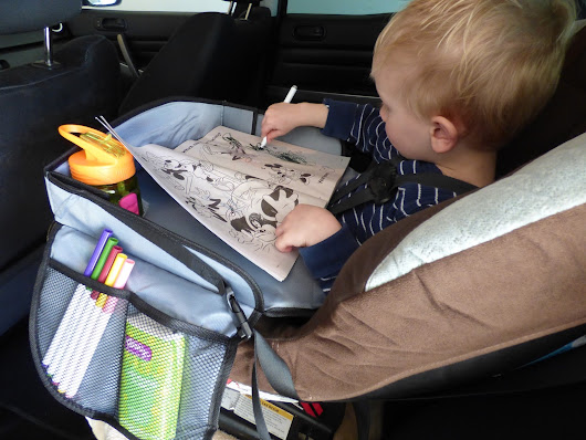 The Only Kids Travel Tray Needed! *Giveaway!