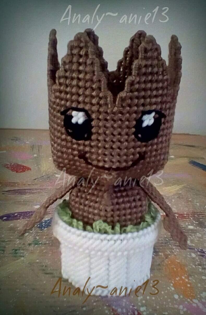 DIY PATTERN Baby Groot vol2 Amigurumi Crochet Pattern | Etsy | 1208x790