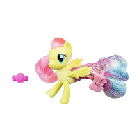 My Little Pony the Movie Fluttershy Land & Sea Fashion Styles Brushables