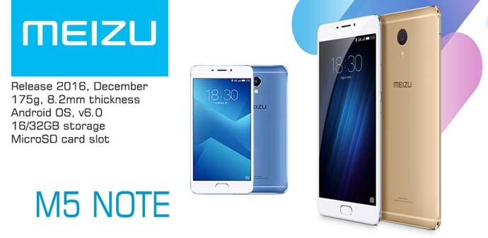 Smartphone Meizu M5 Note