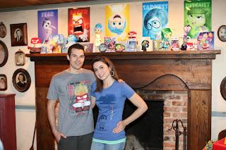 disney pixar inside out birthday party