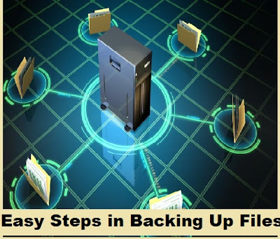 Easy Steps in Backing Up Files