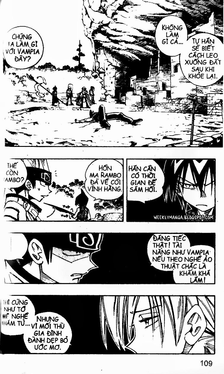 Shaman King [Vua pháp thuật] chap 103 trang 7