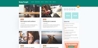Bung Frangki blogger template