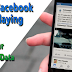 Stop Autoplay On Facebook