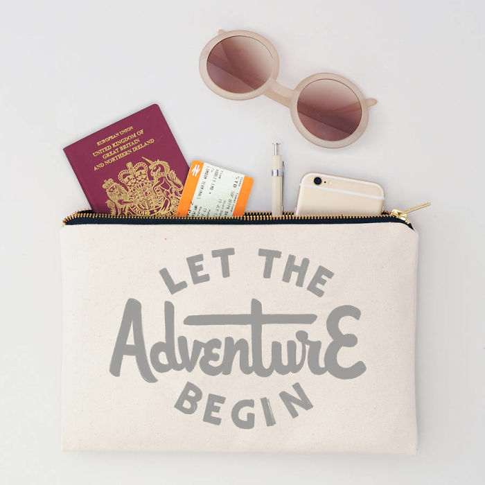 15+ Of The Best Traveler Gift Ideas Besides Actual Plane Tickets - Let The Adventure Begin Zip Lock Travel Pouch