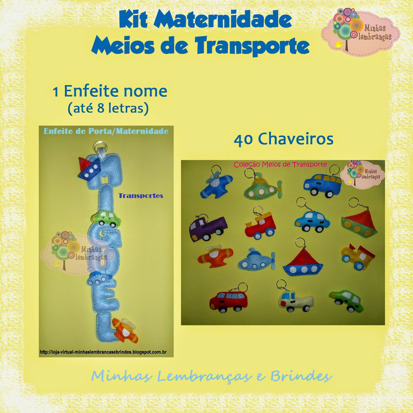meios de transporte-feltro-maternidade-kit-enfeite-porta-nome-nascimento-bebê