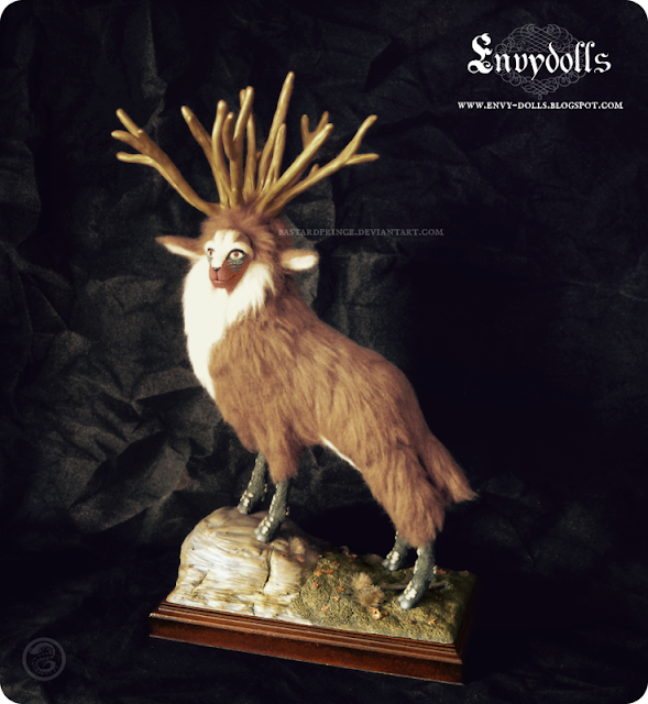 princess mononoke forest spirit sculpture