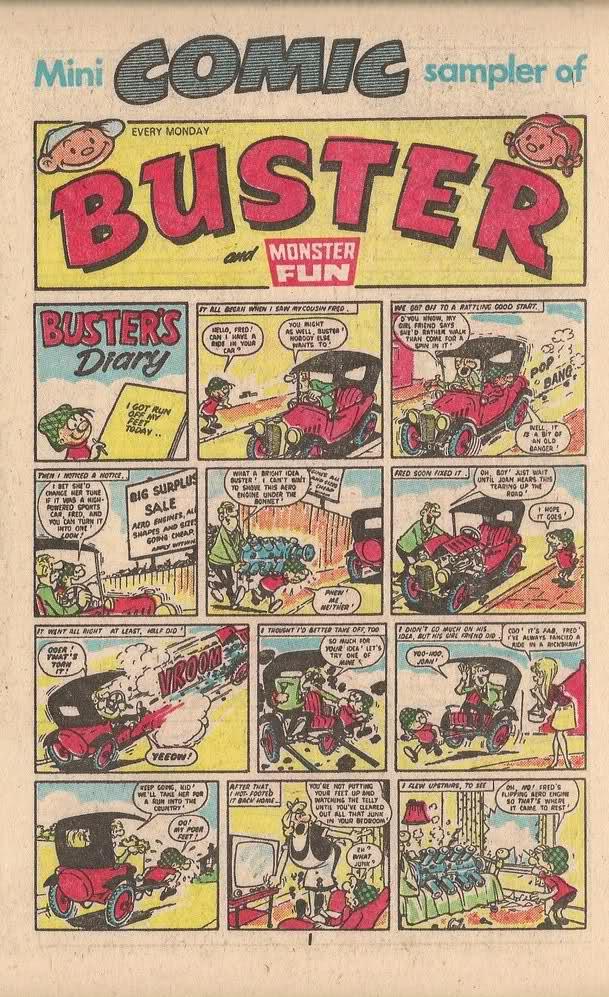 Portada de revista Buster Nadal