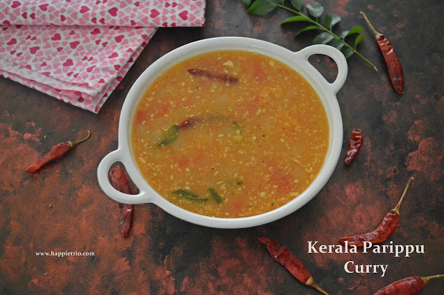 Parippu Curry | Dal Curry | Onam Sadhya Recipe |Kerala Style Parippu Curry