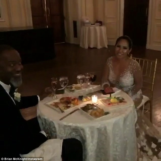 R&B singer Brian McKnight gets married on New Years Eve..(photos)