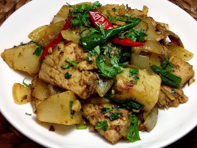 Goan Pork Roast Chilli Fry