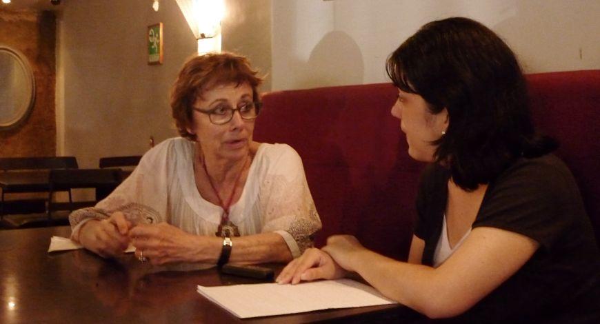Krina Ber y Adriana Rodríguez