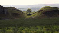 Hadrian's Wall Northumberland, Sycamore Gap Tree, Robin Hood Tree,Robin Hood Prince of Thieves Tree,UNESCO world heritage site Roman Wall. NorthumbrianImages Blogspot,North East, England,Photos,Photographs